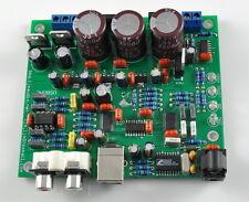 New CS4398 CS8416 24bit/192KHZ  DAC  USB optical Input SC