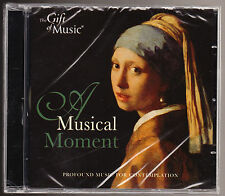 A MUSICAL MOMENT - PROFOUND MUSIC FOR CONTEMPLATION - NEW & SEALED CD (2007)