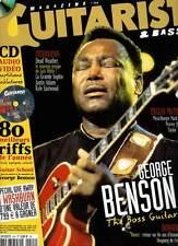 "GUITARIST & BASS #224 ""G.Benson,Dead Weather,Grande Sophie,K.Eastwood""(revue)+CD"