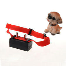 Mini Anti-Bark Dog Training Stop Barking Collar Ultrasonic Shock Aid Control