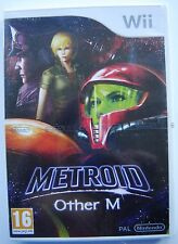 Wii Metroid Other M NEW FACTORY SEALED
