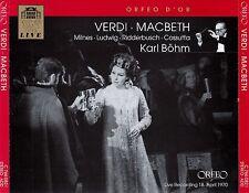 VERDI : MACBETH - WIENER STAATSOPER - BÖHM / 2 CD-SET - NEUWERTIG