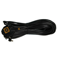 Kood Universal Male to Female Flash PC Sync Cord Straight Cable - 5m - Black