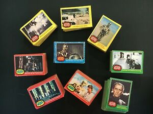 400-500 Topps 1977-1978 STAR WARS series 1, 2, 3, 4 trading cards -  large lot