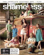 Shameless US : the complete season series 1, 2, 3, 4 & 5 blu ray Box Set RB