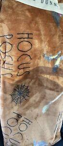 "NWT Rae Dunn ""HOCUS POCUS"" Halloween Printed Plush Throw Blanket (50"" x 70"")"