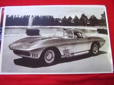 1963 CHEVROLET CORVETTE MAKO SHARK 1 SHOW CAR  11 X 17  PHOTO /  PICTURE