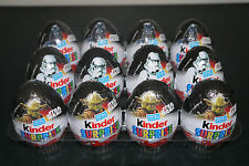 12 x KINDER SURPRISE EGGS - STAR WARS - 20g each (Dated March 2017)