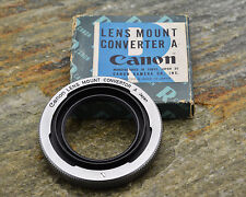 Canon Lens Mount Converter A L39 Rangefinder lens to Canon FL/FD Adapter (#848)