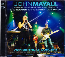 JOHN MAYALL & BLUESBREAKERS AND FRIENDS 70th birthday concert 2CD NEU /NEW