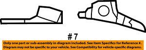 Jeep CHRYSLER OEM Instrument Panel Dash-Applique Window Trim Right 6LG16AAAAB