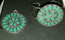 Vintage Women's Fashion Necklace and Bracelet Jewelry set