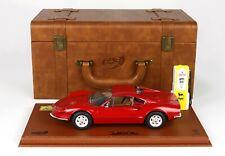 Ferrari Dino 246 GT TIPO 607L 1969  50 Anniversario Car Koffer  PC-Box  BBR 1:18