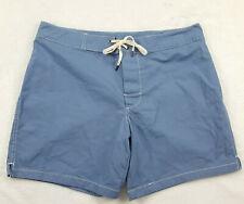 Gap Mens Size Medium Beach Shorts, Light Blue, Style # 225423
