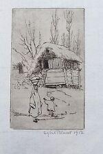 1912  Srinagar Print by Sybil Allan Blunt - Jammu & Kashmir - India