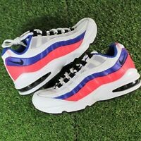 Nike Air Max 95 Solar Red White Blue Pack 905348-103 Sneakers GS Youth Size 4.5Y