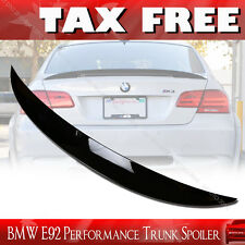 PAINTED BMW E92 2DR 3-Series Performance P-Type Boot Trunk Spoiler ABS #475