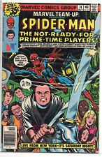 MARVEL TEAM-UP #74 Spider-Man & Saturday Night Live SNL Jim Belushi Cover 1978