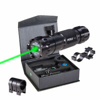 Tactical Hunting Rifle Green Laser Sight Dot Scope Adjustable w/ Mounts USA