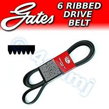 GATES 6pk 870 6pk870 Micro V Ribbed Fan - Auxiliary - Alternator - Drive Belt