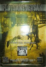 FLOTSAM & JETSAM Unnatural Selection, Metal Blade promo poster, 1999, 13x19, EX