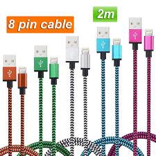 Cable Usb para iPhone 5 5S 5C 6 6 Plus 6S 7 8 pin lightning carga datos 2m