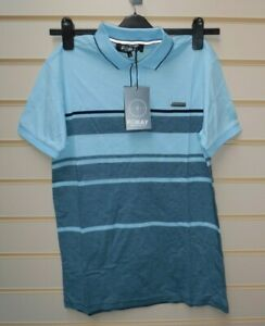 Foray Men's Blue  Polo - T Shirt Size Small BNWT  G003