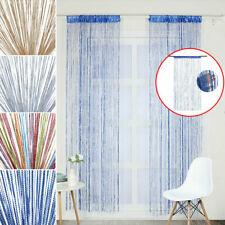 Hanging Beaded Curtain String Door Window Curtains Tassel Fly Screen Panel 200cm
