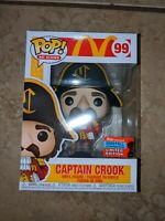 Funko Pop! McDonald's Captain Crook Ad Icons NYCC 2020 RARE NEW