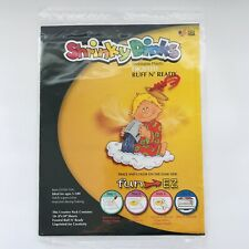 """Fun EZ Shrinky Dinks 10-8""""x10"""" Frosted Sheets, Bake and Shrink Fun Draw Cut"""