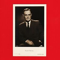 Ansichtskarte Rudolf Fernau Film Foto Verlag A 3913/1 Tobis Star-Foto-Atelier