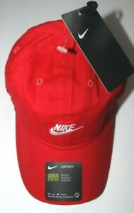 2T-4T Toddler Boys Hat Nike baseball cap Red adjustable New w/tags