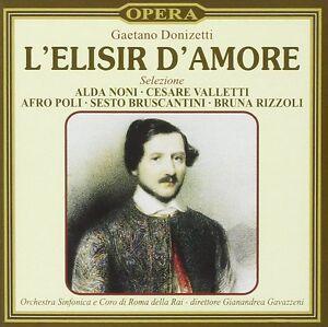 L'Elisir D'Amore Selezione (Selection) - Donizetti - Gavazzeni (CD 1997) New