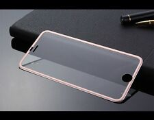 Tempered Glass Protector Edge to Edge ROSE GOLD for Apple iPhone 6S/6