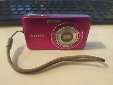 Sony Cyber-shot DSC-W310 12.1MP Digital Camera - Pink