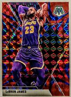 LeBron James 2019-20 Panini Mosaic Blue Reactive Prizm Card PSA 10? HOT🔥LAKERS