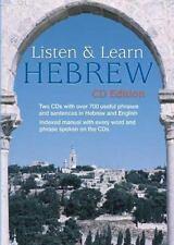 Listen & Learn Hebrew CD Edition