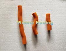 Fit KTM 250 SX/ XC ; 300 XC 2019 19 silicone radiator hose kit Orange