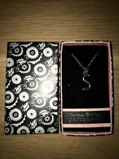 PERSONALISED NECKLACE WITH THE INITIAL - S - BY MARINA DE BUCHI - GIFT BOX