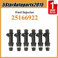 6x Fuel Injector 25166922 for Isuzu Rodeo Trooper Axiom Honda Passport 3.2L 3.5L