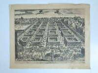 Gravur Karte von der Messe Saint-Germain-Des-Prés Daniel Jacomet Druck Justifi