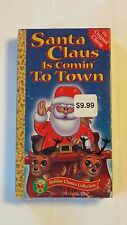 """HOLIDAY CLASSICS COLLECTION """"SANTA CLAUS IS COMIN' TO TOWN"""" VHS *SEALED* 1970"""