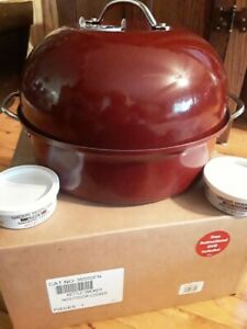 Nordic Ware Stovetop Kettle Smoker & Wood Roaster New Opened Box