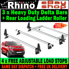 01-14 Standard Roof Rhino Delta 2 Bar Roof Rack for Renault Trafic