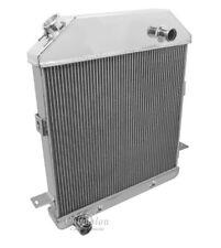 "1939 1940 Mercury Radiator, Aluminum 2 Row w/ 1"" Tubes American Eagle AE4001FD"