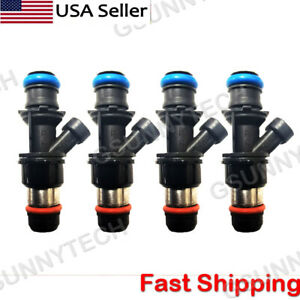 4x New Fuel Injector For Delphi 2000-2003 Chevy S10 GMC Sonoma 2.2L 25325012