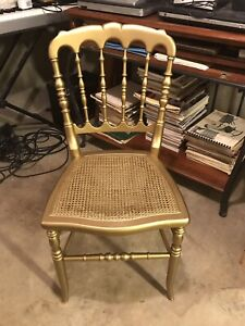 Tell City Chair Company 125th Anniversary Limited Edition GOLDEN CHAIR!