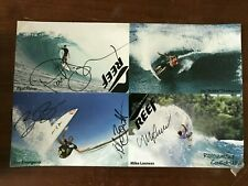 Signed Surfing Poster