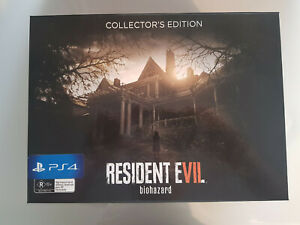 PlayStation 4 (PS4) Resident Evil 7 Biohazard Collector's Edition RARE L.E