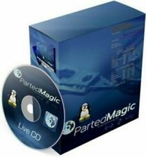 Parted Magic 2019 Live CD for Windows Linux Recovery Repair Utilities Disc